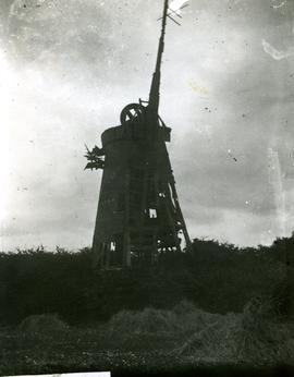Derelict Smock Mill, Pease Hall Mill, Springfield