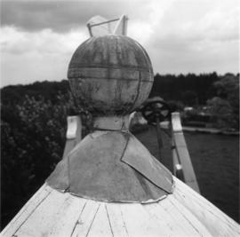 Finial of cap, King's Mill, Shipley