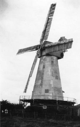 White Mill, Bethersden, with damaged shutters