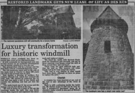 """Luxury transformation for historic windmill"""