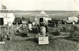 Display of Holman Brothers agricultural machinery at Kent County Show
