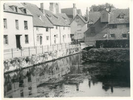 Thames Street, Abingdon, and the Abbey Mill.