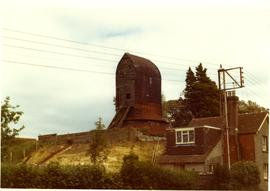 Windmill Hill Mill, Herstmonceux, derelict