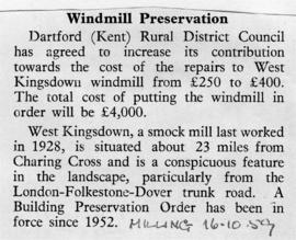 Windmill Preservation