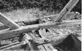 Rear Sill Beams, post mill, Chinnor