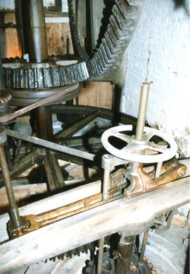 Pit wheel, wallower and spur wheel, watermill, Layham