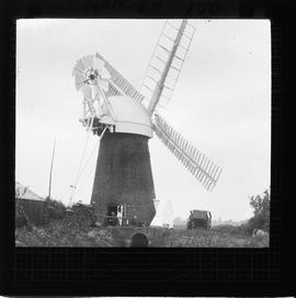 Halvergate Marshes, Norfolk - drainage mill