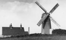 Waterhall Mill, Patcham, and house