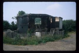 Surviving base, Black Mill, Barham