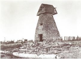 Silas Calter mill with cap