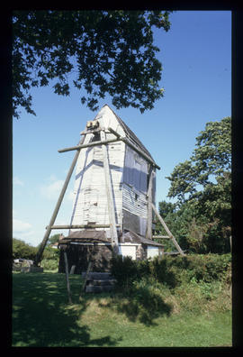 Oldland Mill, Keymer, before restoration