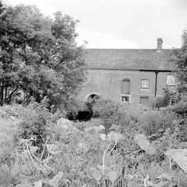 Crichel Mill and house, from across the garden