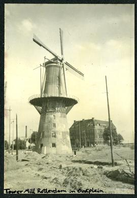 Tower Mill Rotterdam in Oostplein