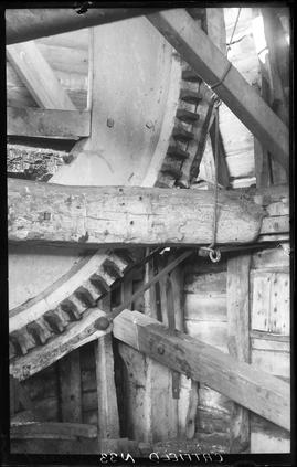 Brake of post mill, Catfield