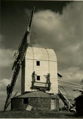 Woolpit post mill, Suffolk