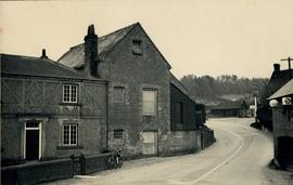 Mill in village