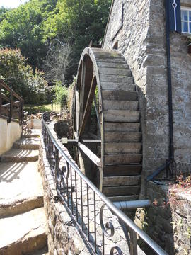Waterwheel, Le Moulin de Lecq
