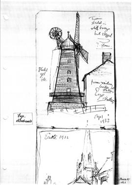 Eye tower mill, Northants. Bk 27, no 1
