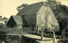 Durford Abbas Mill, Rogate, with slates coming off