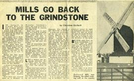 """Mills go back to the grindstone"""