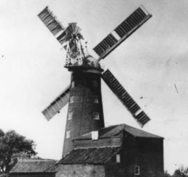 Shepherd's Mill, Upwell, in a working condition