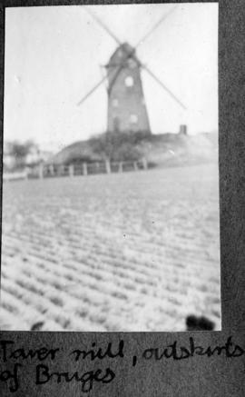 Tower mill, outskirts of Bruges