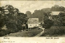 Dorking. Castle Mill, Boxhill.