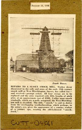 """Repairs to a Sussex Smock Mill"""