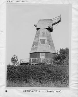 Beacon Mill, Benenden, with no sweeps or fantail