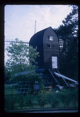 Durrington Mill, High Salvington, under repair with two dummy sail frames removed