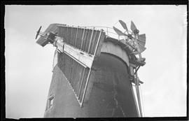 Cap and sails, tower mill, Neatishead