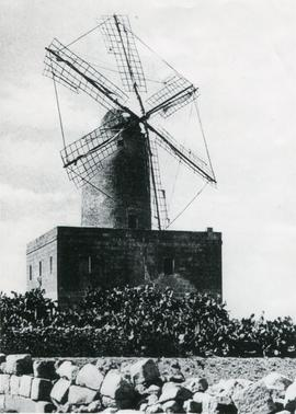 Unidentified Maltese windmill