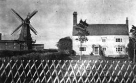 Cowbeech Mill, Herstmonceux, and house
