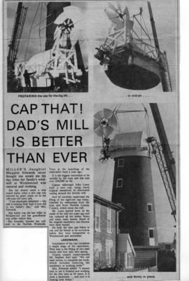 """CAP THAT! DAD'S MILL IS BETTER THAN EVER"""