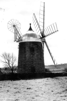 Heage Tower Mill with new Aluminium cap