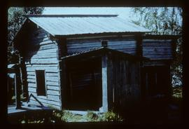 Unidentified wooden building, presumably watermill