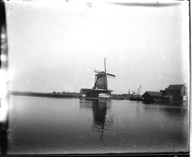 Industrial windmills in the Zaan region