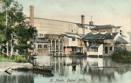 St Neots, Paper Mills