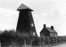 Tower and house, smock mill, Chislet