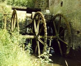 Remains of wheel, Wandle Mill, Benenden