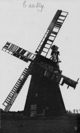 Lower Mill, Eastry, showing damaged sails