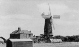 Stallingborough Windmill Exterior-working 2