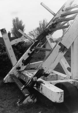 Damaged fan carriage, Thorpeness Mill, Aldringham cum Thorpe