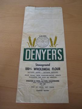 Flour bag - Denyer's, Alton, Hampshire
