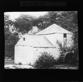 Exterior view of Chudleigh water mill