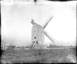Post mill, Friston, East Sussex