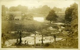 Old Mill and Weir, Holmes Chapel