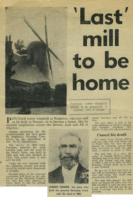"""'Last' mill to be home"""