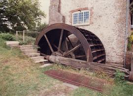 Waterwheel, Maiden Newton Mill, Maiden Newton