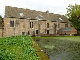 Abbey Mill, Fountains, from the west
